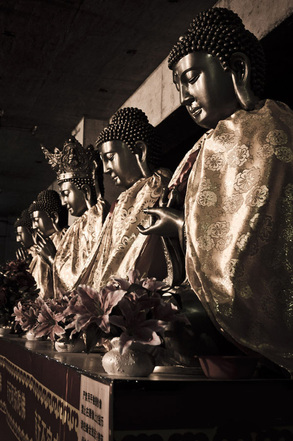 buddhism, practice, temple in sichuan