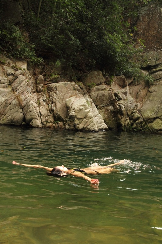 swimming, shanghai, valleys, green hills, ancient forest