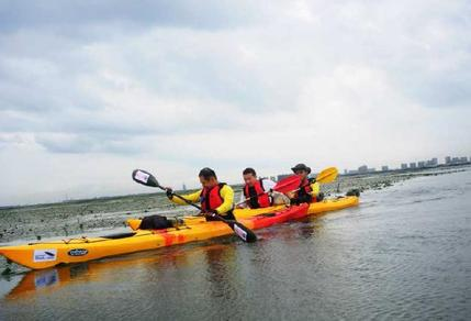 shanghai, kayaking, initiation, lake