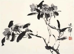 chinese painting, in shanghai